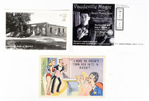 Three Magic Postcards