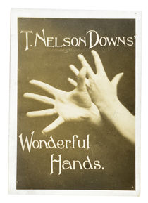 T. Nelson Downs Wonderful Hands Photograph