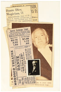 Dante Morosco Theatre Ticket and Ephemera