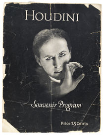 Houdini Final Tour Souvenir Program