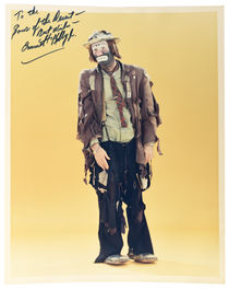 Emmett Kelly Jr. Photograph, Inscribed and Signed