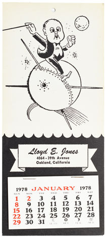 Lloyd E. Jones 1978 Calendar