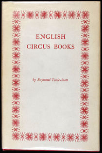 A Bibliography of Books on the Circus in English from 1773 to 1964