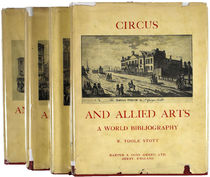 Circus and Allied Arts: A World Bibliography, 1500-1970, Volumes 1-4