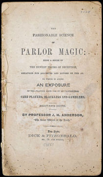 The Fashionable Science of Parlor Magic