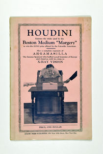 "Houdini Exposes the Tricks Used by the Boston Medium ""Margery"""