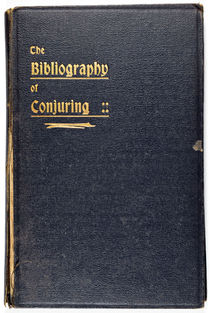 The Bibliography of Conjuring
