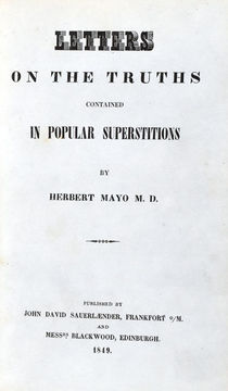 Letters on the Truths Contained in Popular Superstitions