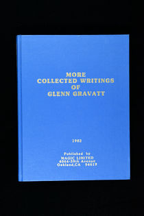 More Collected Writings of Glenn Gravatt
