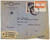 Envelope from David Bamberg (Fu Manchu)