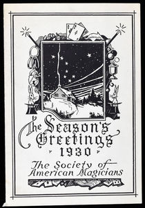 Society of American Magicians Christmas Card