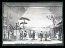 Egyptian Hall Lithograph