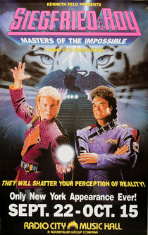 Siegfried & Roy Poster