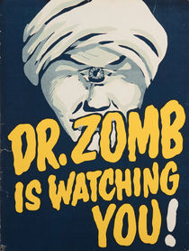 Dr. Zomb (Ormond McGill) Poster