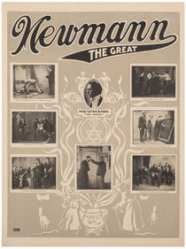 Newmann the Great Poster, Gray
