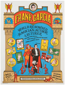 Frank Garcia Signed and Inscribed Poster