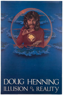 Doug Henning Illusion or Reality Poster