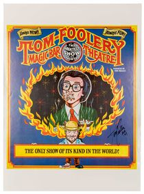 Tom-Foolery: The Greatest Show on Mirth, Signed
