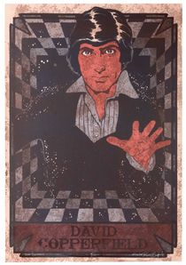 David Copperfield Limited Edition Screen Print, Signed Twice