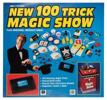 New 100 Trick Magic Show Advertising Poster