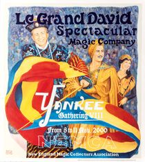 Le Grand David, Spectacular Magic Company