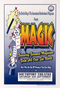 Magic: Featuring Foremost Magicians