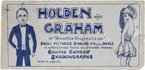 "Holden and Graham in ""Versatile Originalities"""