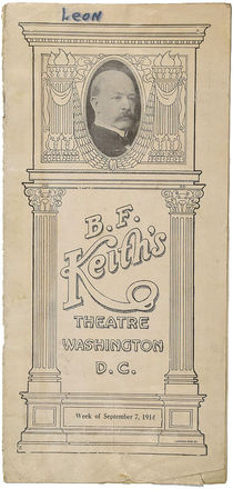 B.F. Keith's Theatre Program
