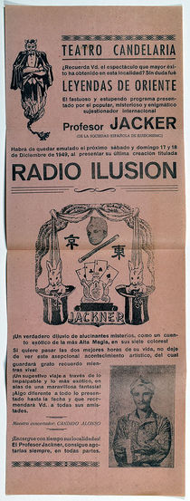 Teatro Candelaria Presents Profesor Jacker: Radio Illusion