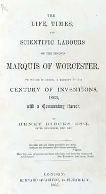 Second Marquis of Worcester