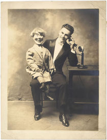 Ventriloquist Photograph