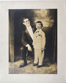 Adam Ross Ventriloquist Photograph