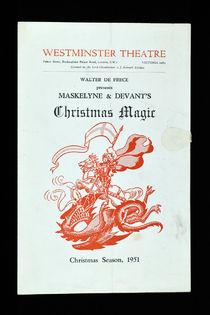 Maskelyne & Devant's Christmas Magic Program