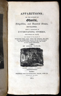 Apparitions; Or, The Mystery of Ghosts...