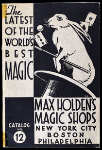 Max Holden's Magic Shops Catalog No. 12
