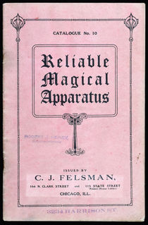 Reliable Magical Apparatus, Catalogue No. 10