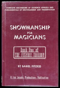 Showmanship for Magicians