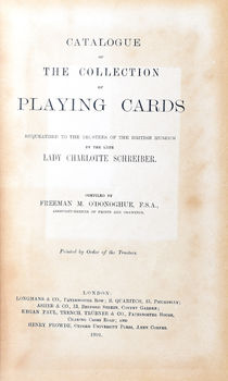 Catalogue of the Collection of Playing Cards