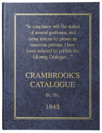 Crambrook's Catalogue, 1843
