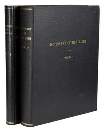 The New Encyclopedic Dictionary of Mentalism, Vols. 1-3