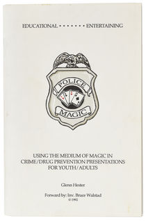 Using the Medium of Magic in Crime/Drug Prevention Presentations for Youth/Adults