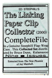 The Linking Paper Clip Collector Complete File Vol. 1-9.