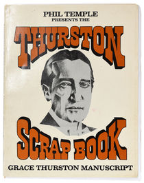 Thurston Scrap Book: Grace Thurston Manuscript, Publisher's Copy