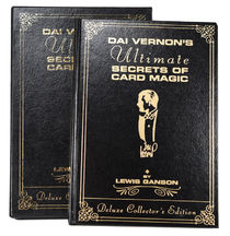 Dai Vernon's Ultimate Secrets of Card Magic Deluxe Edition, Signed