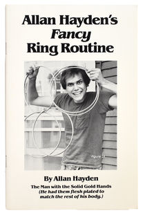 Allan Hayden's Fancy Ring Routine