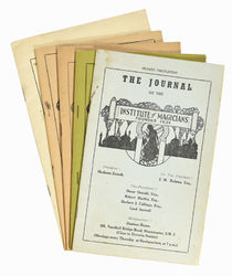 The Journal of the Institute of Magicians, Set of Five