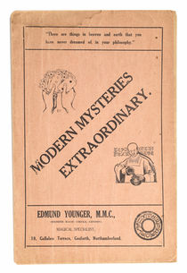 Modern Mysteries Extraordinary. Catalog