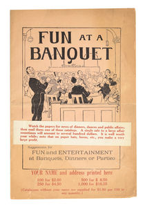 Fun at a Banquet Catalog