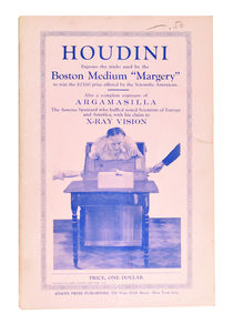 "Houdini: ""Margery"" the Medium Exposed"