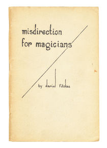 Misdirection for Magicians
